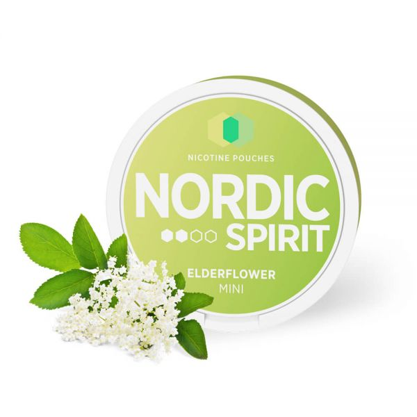 Nordic Spirit Elderflower Mini Pouches