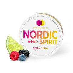 Nordic Spirit Berry Citrus Slim Strong - 1 Can